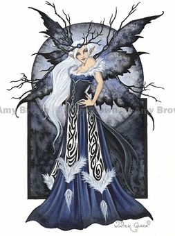 Winter Queen by Amy Brown