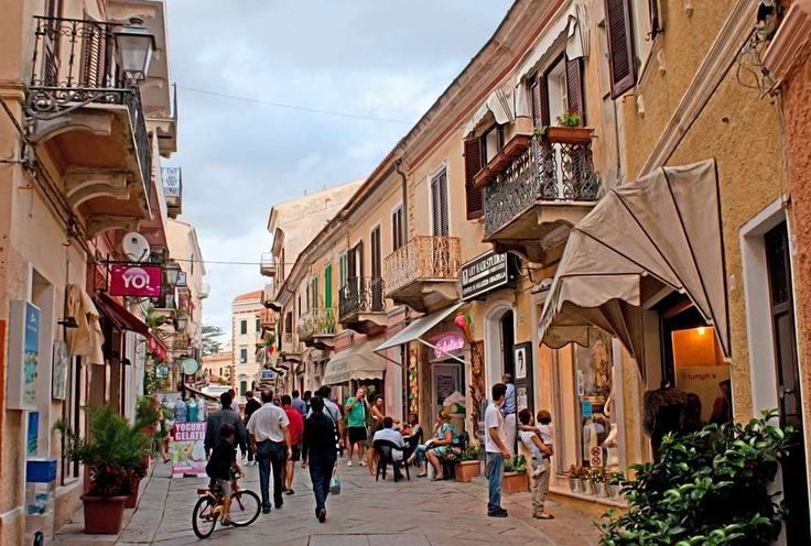 Itália- Ilha La Maddalena - Arquipélago de Maddalena