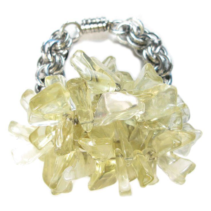 Lemon Quartz Water's Edge Bracelet
