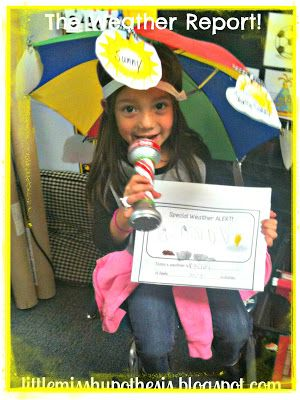 Little Miss Kindergarten - Lessons from the Little Red Schoolhouse!: What's Up With The Weather?