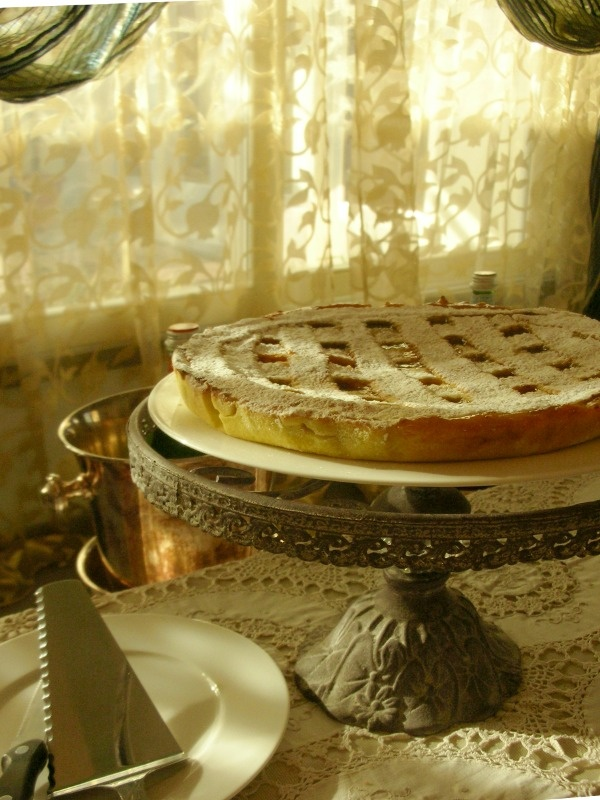 A breakfast at Villa Roncuzzi, Ravenna, Italy