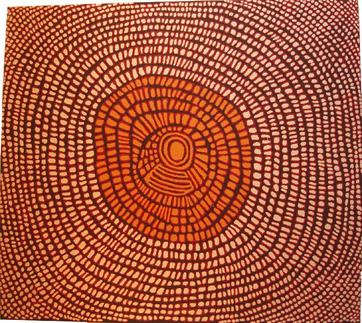 australian aboriginal art   Pantijiya Nungarrayi: Australian Aboriginal Art