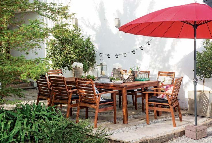 Las celebraciones en familia ahora se trasladan a la terraza. #airelibre #terrazas #balcones #easytienda #tiendaeasy #Terrazas2015 #Easy