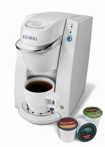 Keurig B30 Mini Personal Single Serve Coffee Maker Brewing System White The K45