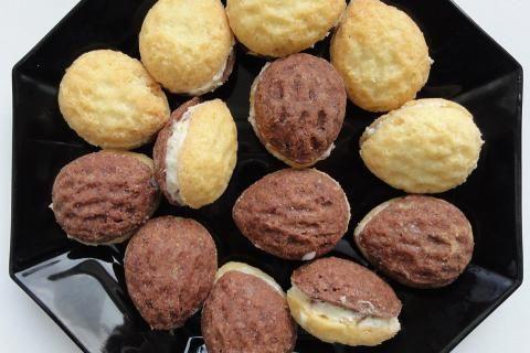 Jak upéct cukroví plněné ořechy   recept