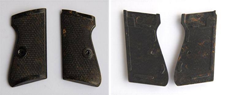 Biete hier ein Paar Griffschalen für die Pistole Walter PP - 1001 DDR Fertigung ! (ohne Walter Schleife !!!)