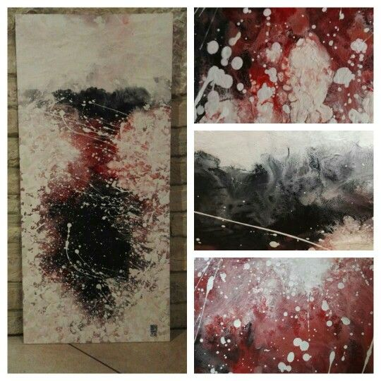 N. 18 #abstract #fluid #art #acrylic #paint #splash