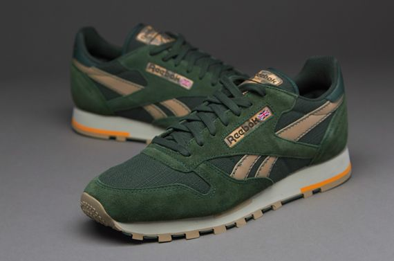 reebok classic leather utility green 1969114d8