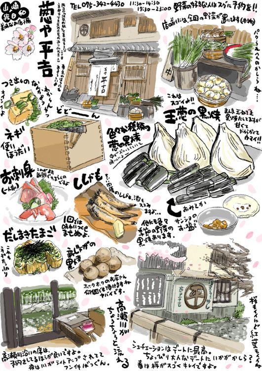 野菜好きにはもってこいの店の画像:週間山崎絵日和
