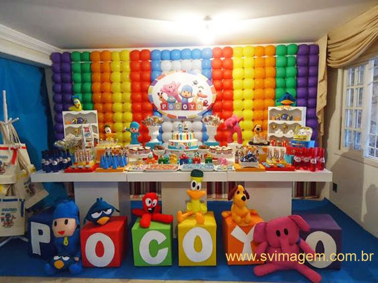 36 best Pocoyo Inspired Party images on Pinterest Birthday ideas