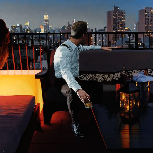 Iain Faulkner signed limited edition giclee 'NY View' Iain Faulkner artwork and prints [IF6313] - £385.00 : CollectorArt.co.uk, Limited edition prints and etchings, Collectable Art at Affordable Prices