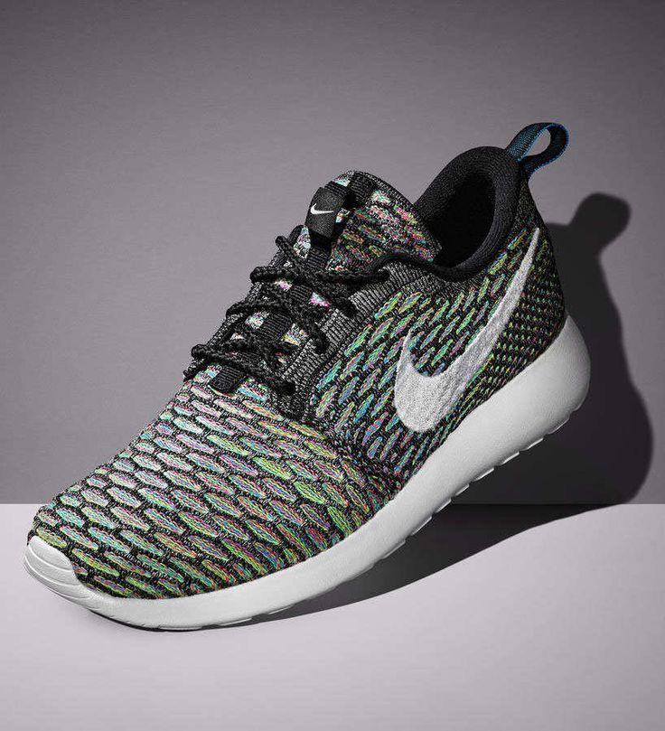 Nike Roshe Flyknit Vente Multicolore Pneus Neufs