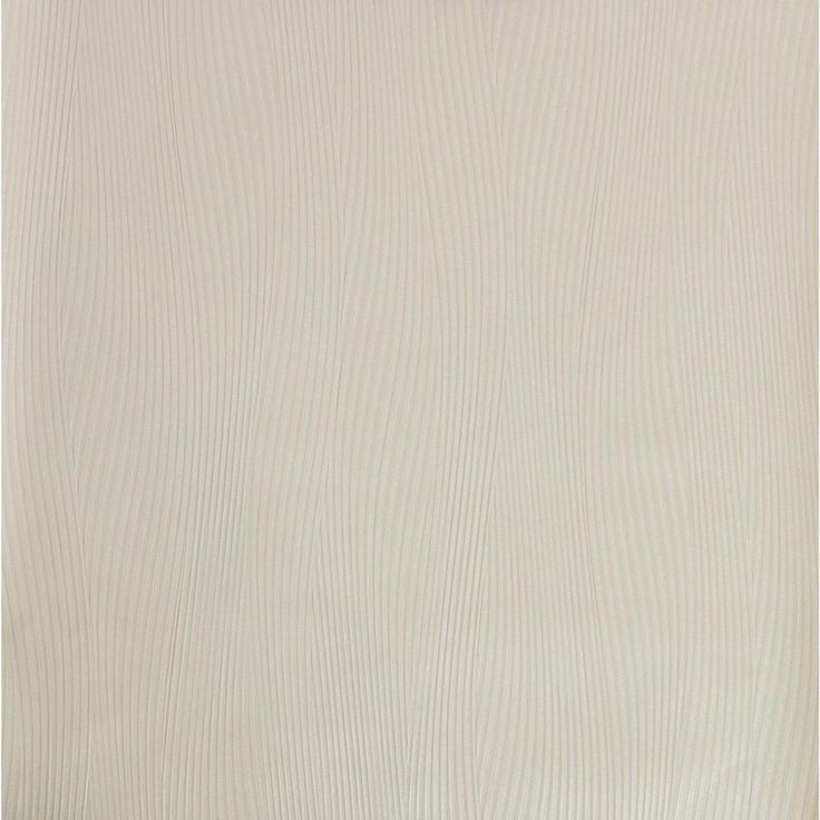 57.75 sq. ft. Wall Sculpture Wavy Strands Wallpaper, White