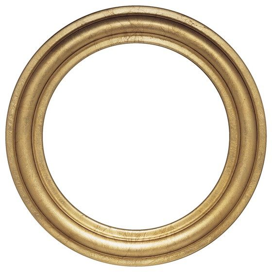 25 best ideas about round picture frames on pinterest for How to make a round frame for mirror