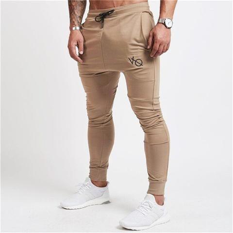 cd57d2769 2018 Autumn Winter New Gyms Pants Men Joggers Casual Pants Brand Trousers  Sporting Bodybuilding Sweatpants joggers