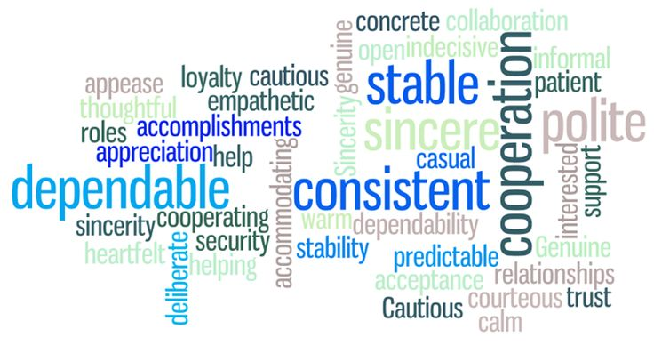 Commonly Used Words To Describe The S Style Person S Disc Personality Style Pinterest