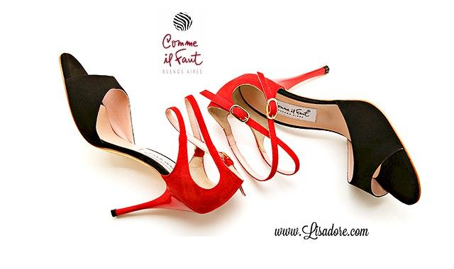 Comme Il Faut - Argentina Tango Shoes - Dance Shoes - Salsa -  Dancing Shoes -