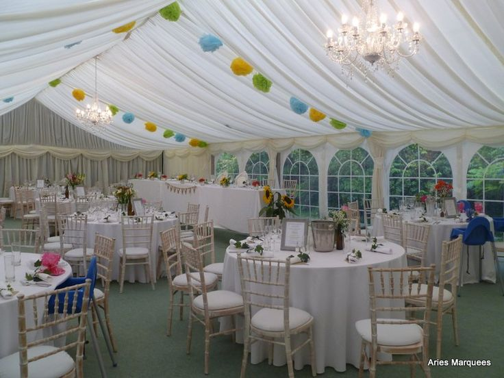 This Garden Marquee At The Scotch Piper Inn A Wedding Venue Near Liverpool In Merseyside