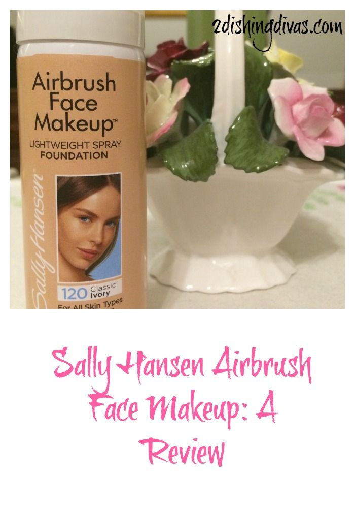 Wondering about this new airbrush foundation?  We tell all in our review of Sally Hansen's Airbrush Face Makeup!
