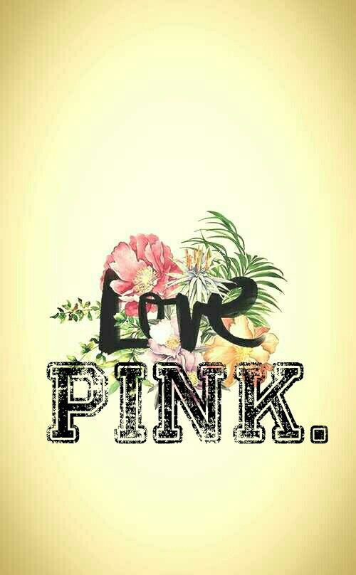 Victoria Secret Pink Wallpaper ♥ By: XQueeenBeeeX (@pinterest)