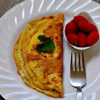 Cheese Omelet Recipe - Fluffy Omelet Recipe with Cheese