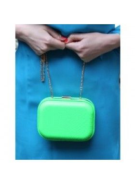 It's Vintage Neon Green with Envy Snakeskin 1960's Inspired Clutch Bag. Buy @ http://thehubmarketplace.com/Neon-Green-with-envy-bright-snakeskin-1960s-inspired-clutch-bag