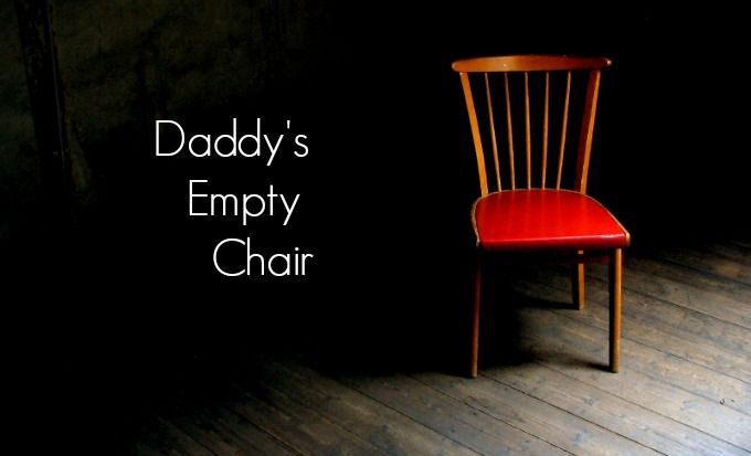 Such an awesome story and an amazing relationship with Jesus. (Daddy's Empty Chair: Read the story at http://www.wisdomquotesandstories.com/daddys-empty-chair/)