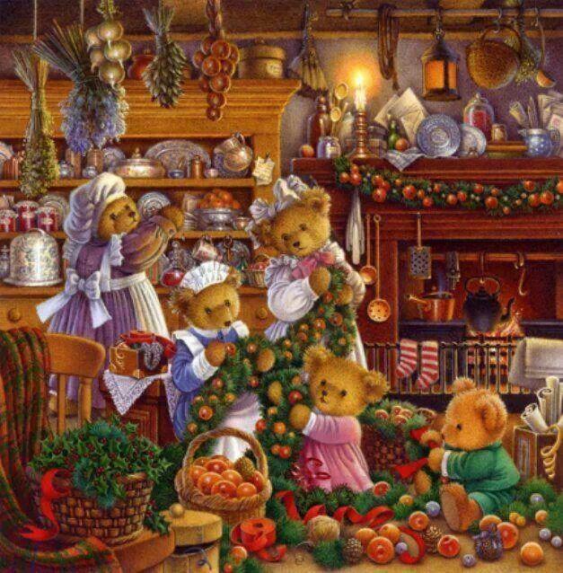 THE TEDDY BEARS CHRISTMAS