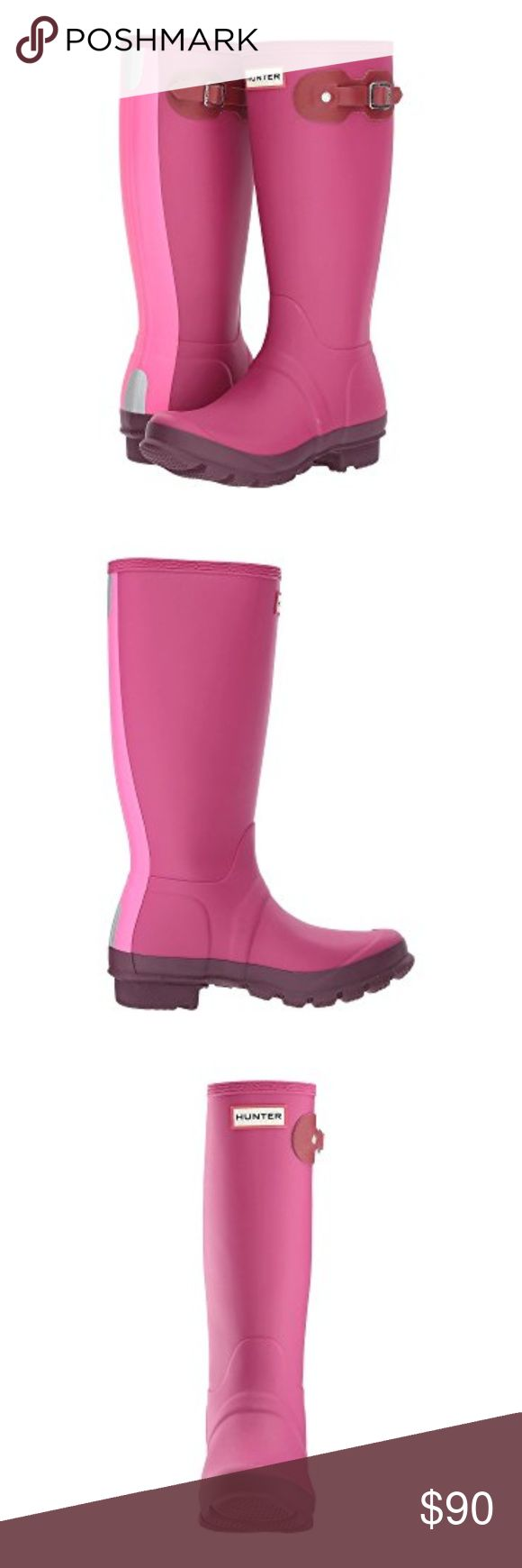 Hunter Boots Kids These are the cutest Pink Hunter Boots Ever! Brand New! Hunter Shoes Boots