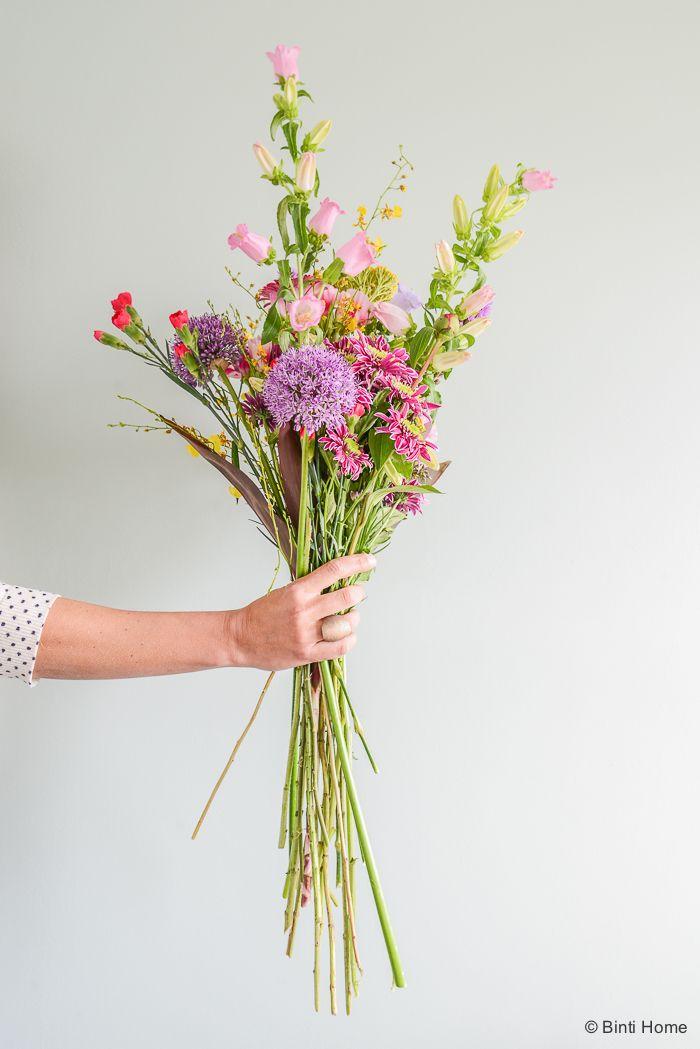 Stylingtip   Wat is jouw favoriete plek in huis om je bloemen neer te zetten?   Binti Home blog : Interieurinspiratie, woonideeën en stylingtips
