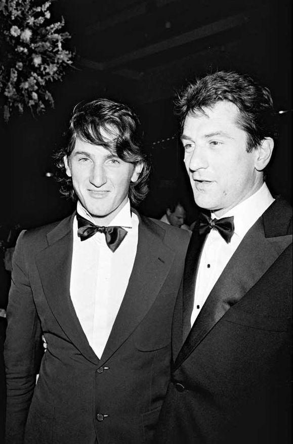 Sean Penn - Robert DeNiro #celebrities #icons #photography