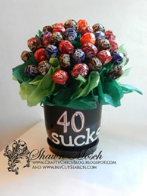 Sucker Candy Bouquet | FaveCrafts.com