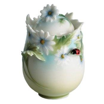 Franz Porcelain Sugar Jar - Ladybug Sugar Jar, by Franz Collection. Available at ahalife.com