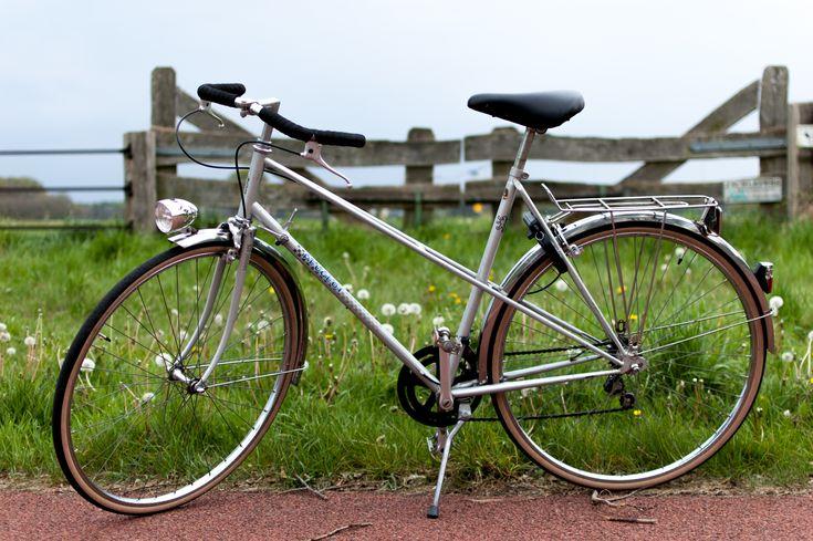 1980's Peugeot Mixte vintage bicycle