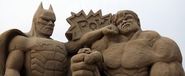 Sculture di sabbia cinematografiche