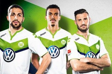 VfL Wolfsburg 2015/16 Kappa Home Kit
