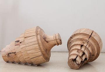 """FLOOR SCULPTURES """"UNTITLED 45 AND 46"""" BY MELBOURNE ARTIST JO WILSON - AVAILABLE IN STORE"""