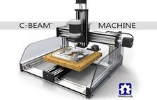 This C-Beam Machine model includes electronics and optional components.