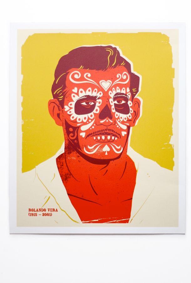Mexican Wrestlers by I love Dust: Halloween Dead, Rolando Vera, Wrestlers Society, Illustrations Graphics, Dead Wrestlers, Design Art, Mexicans Wrestlers, Prints Illustrations, Wrestlers Rolando