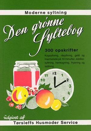 Moderne syltning: Den grønne syltebog - 300 opskrifter alle bær og frugter syltet af Tørsleffs Husmoder Service, der siden 1939 har serviceret de danske husmødre med råd og vejledning om Tørsleffs produkter, der bl.a. bruges til syltning og henkogning. ISBN 9788785168078