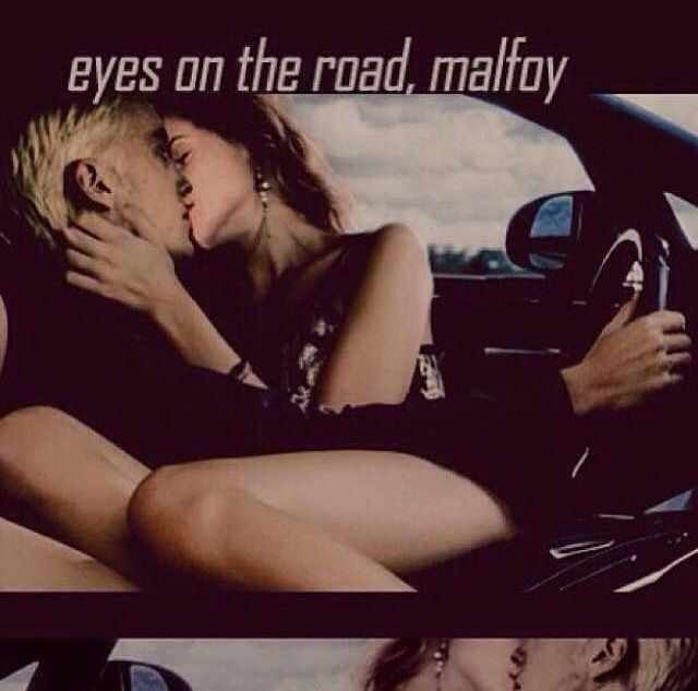 I love both that this is Dramione and also that it was taken from Fast and Furious.
