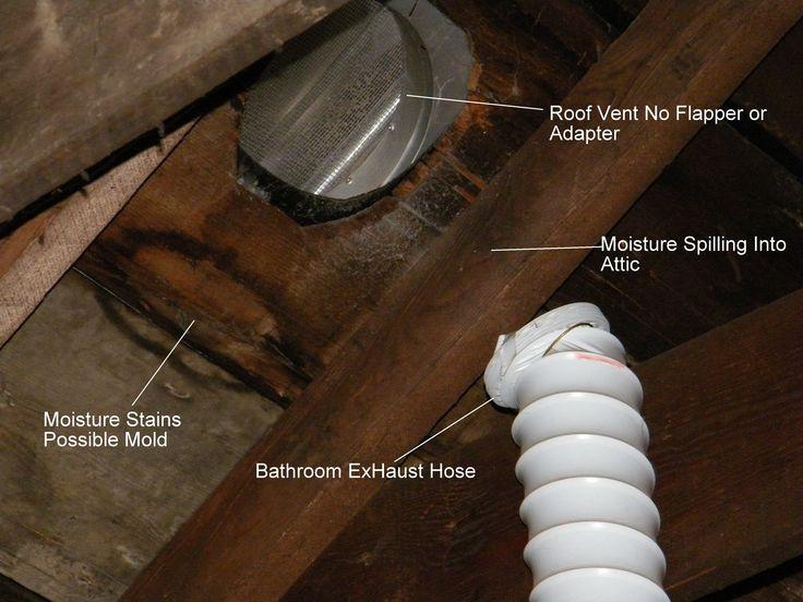 Bathroom Exhaust Fan Vent Through Roof Pinterdor Pinterest Vents And Fans