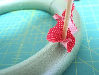 Rag wreath DIY I like this tutorial the best.