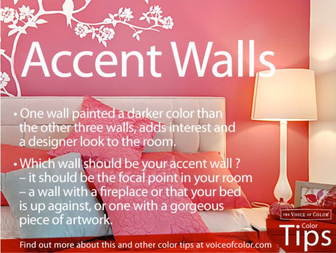 The Best Way To Introduce Color Onto Your Walls Without Committing To All 4  Walls,