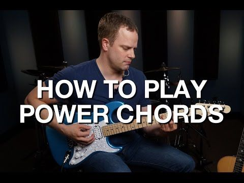How To Play Power Chords - Rhythm Guitar Lessons