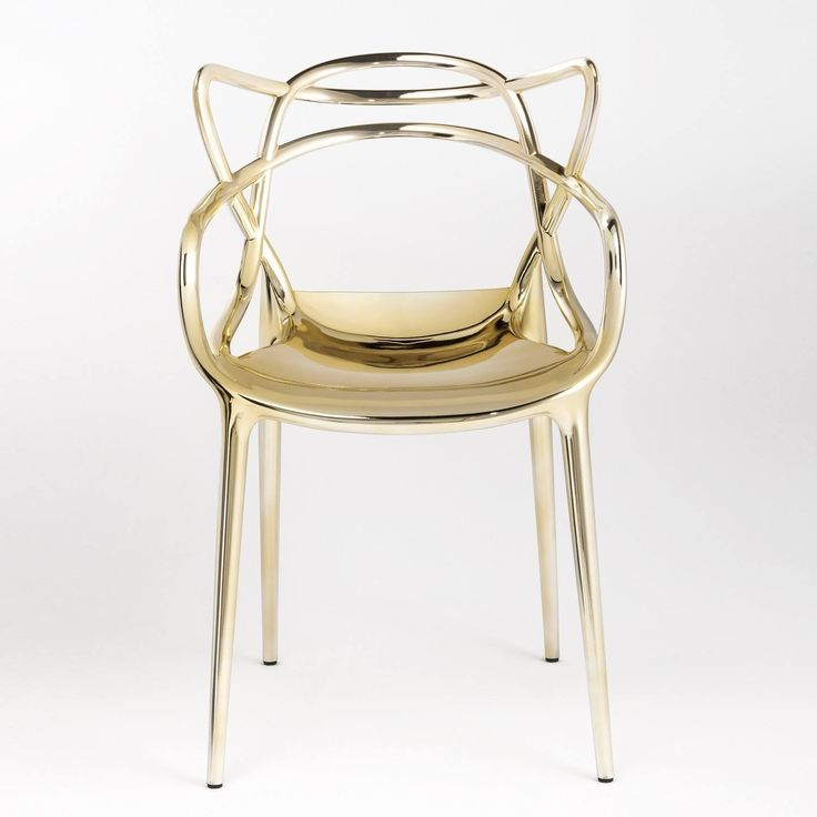 Precious Masters Chair By Philippe Starck, from Kartell |Yliving