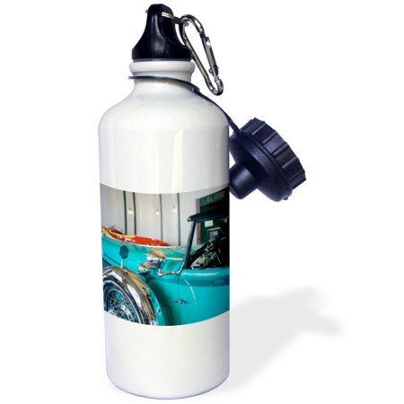 3dRose Indiana, Duesenberg Car Museum, Classic 929 Cord - US15 WBI0016 - Walter Bibikow, Sports Water Bottle, 21oz, White