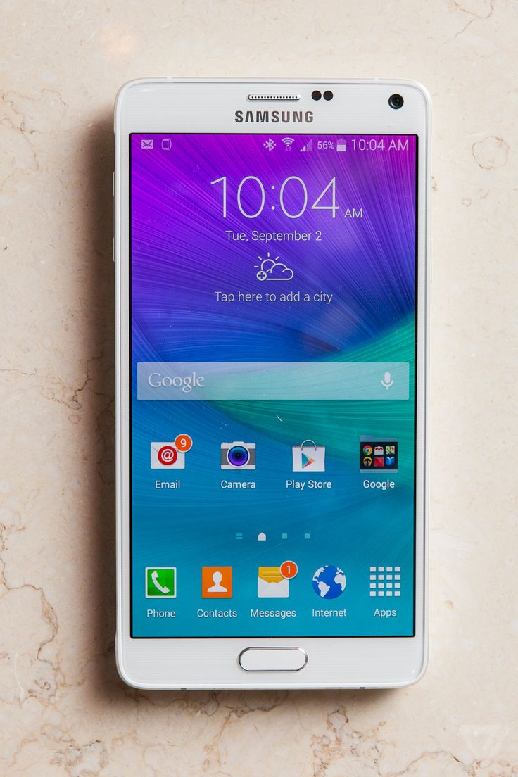 Samsung's Galaxy Note 4 is the phablet, refined | The Verge