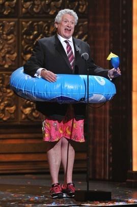 Harvey Fierstein, the 66th Annual Tony Awards Well... You've gotta love him :-)