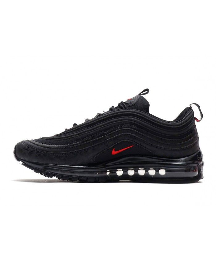 Nike Air Max 97 Black Red Trainers AR4259 001 | Nike shoes
